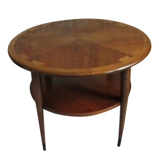 """Danish Mid Century Lane """"Acclaim"""" Drum Table"""