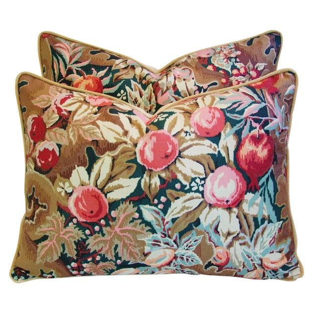 Designer Brunschwig & Fils Filoli Pillows - Pair - Image 1 of 11