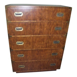 Highboy Campaign Style Dresser