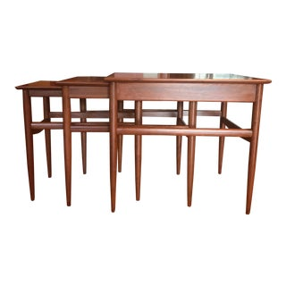 Mid-Century Modern Nesting Tables