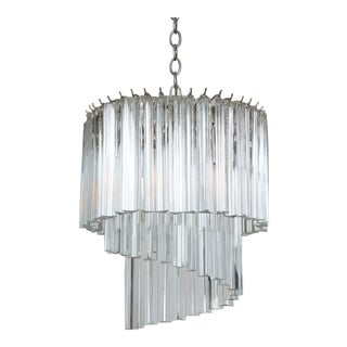 Murano Glass Prism Chandelier