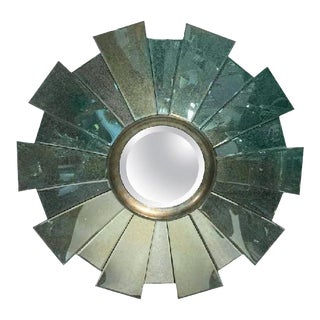21st Century Custom Sunburst Wall Mirror