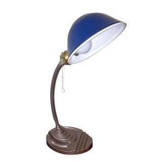 Vintage 1930s Eagle Gooseneck Lamp