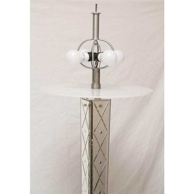 Philippe starck mirror floor lamp from the delano hotel for Philippe starck miroir