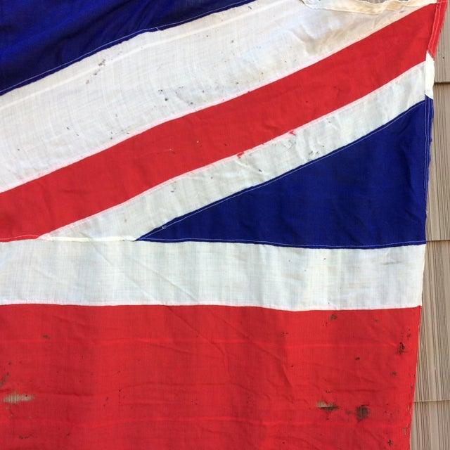 "Image of Vintage ""Union Jack"" British Flag - Ship Flag"