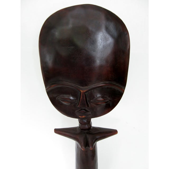 Image of Vintage African Fertility Statue