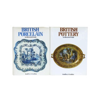 Geoffrey A. Godden British Pottery Books - A Pair