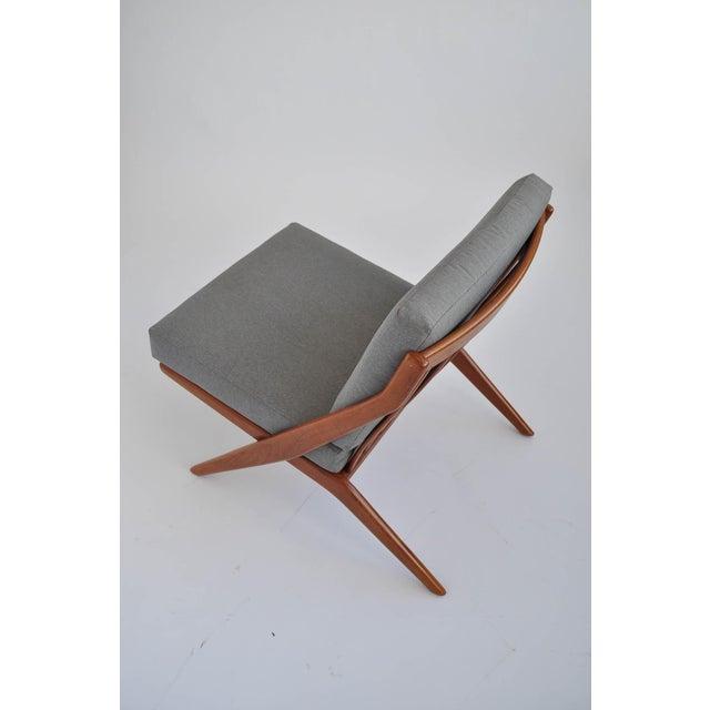Folk Ohlsson Scandinavian Scissor Lounge Chairs - Image 5 of 10