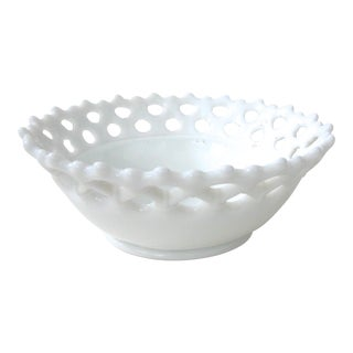 Milk Glass Westmoreland Bowl
