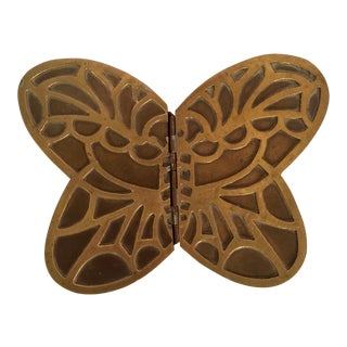 Brass Butterfly Box