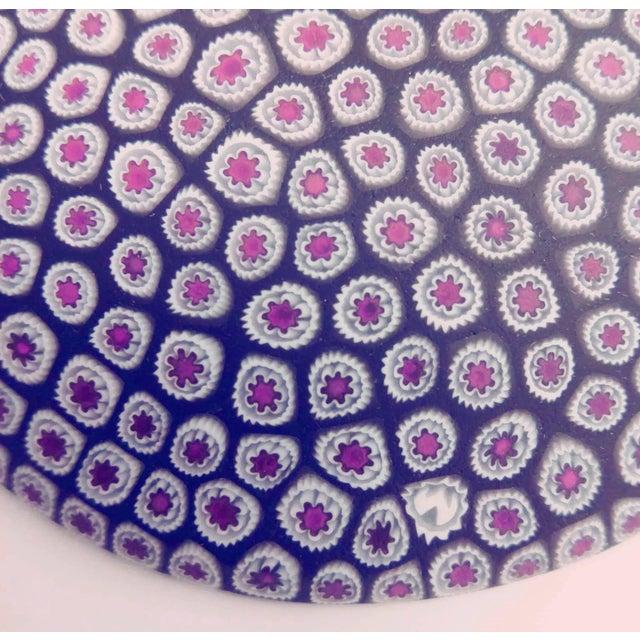 Millefiori Murrine Plate by Ercole Moretti Italy - Image 3 of 7