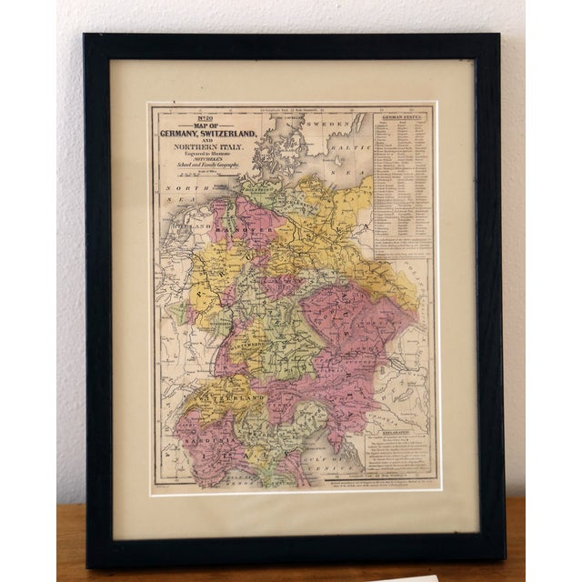 Antique Map of Northern Europe - Image 2 of 3