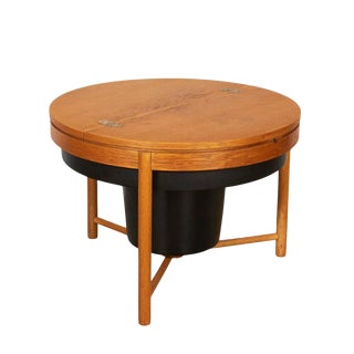 Rastad & Relling Round Sewing Side Table