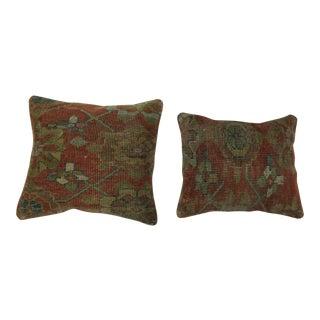 Persian Rug Pillows - a Pair