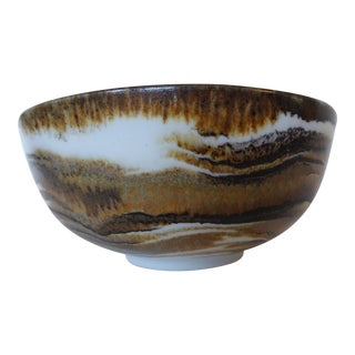 Ross Spangler Studio Art Pottery Bowl