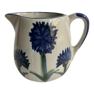 Louisville Stoneware Company Floral Pitcher
