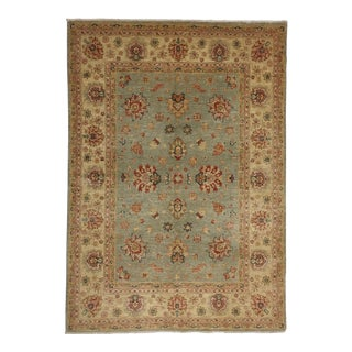 Turkish Oushak Area Rug - 5'7 X 7'11