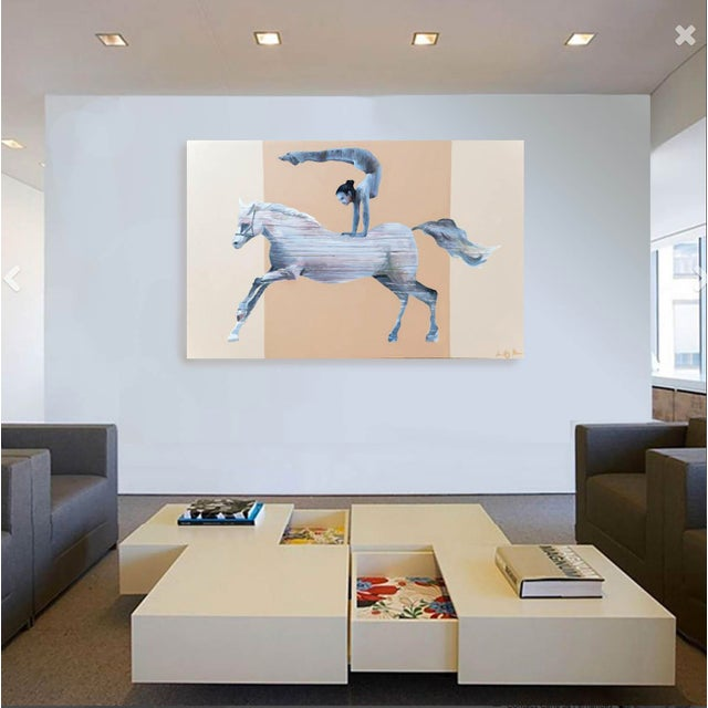 The Horse Vaulter Painting - Image 6 of 7