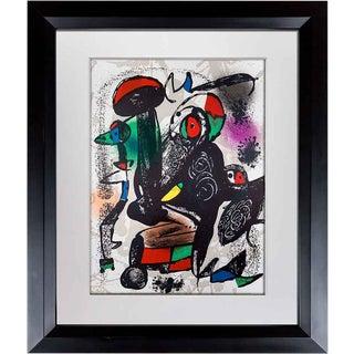 1981 Joan Miro Original Color Lithograph