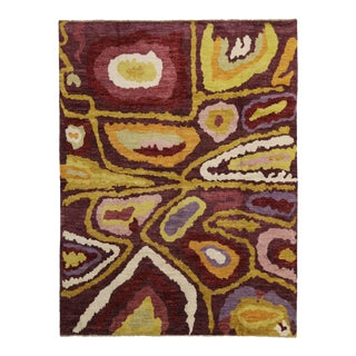"Contemporary Moroccan Style Rug with Psychedelic Style -- 10'5"" x 13'8"""