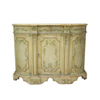 Italian Painted Sideboard