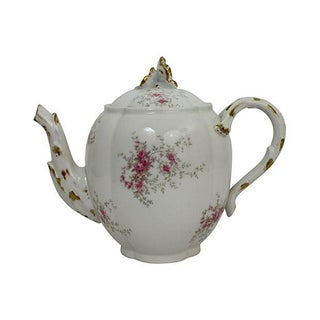 Antique French Limoges Teapot