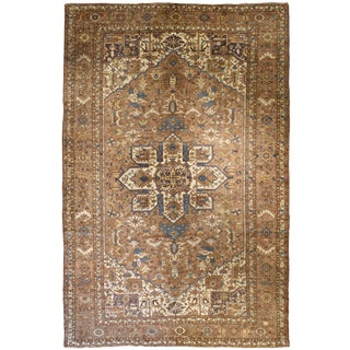 Antique Persian Karadja Rug