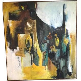 Mixed Media Original Oil Painting