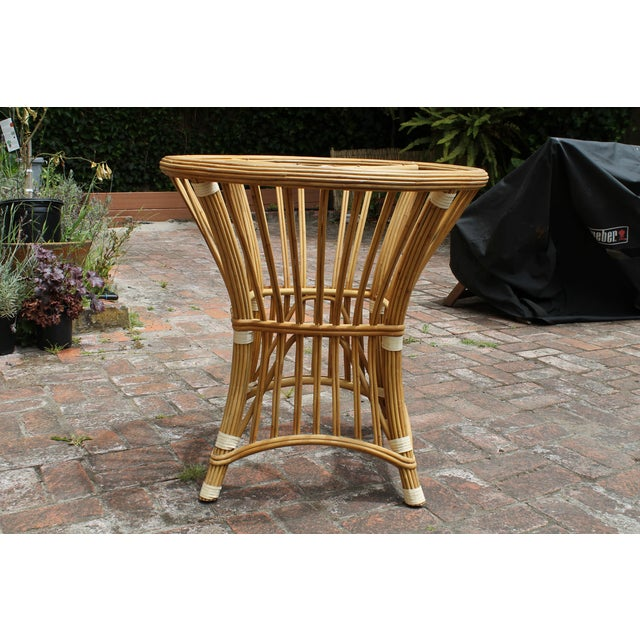 McGuire Rattan and Cane Dining Set - Image 8 of 10