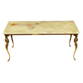 Greco-Roman Onyx Cocktail Table