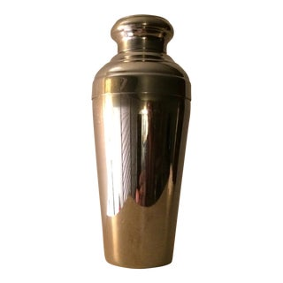 Vintage 22 Ounce Stainless Steel Cocktail Shaker