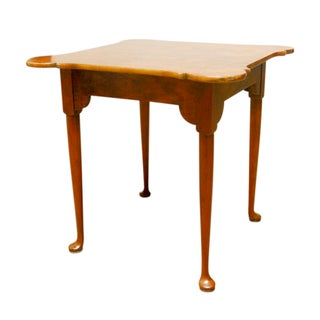 Baker Mid-Century George II Mahogany Tea Table