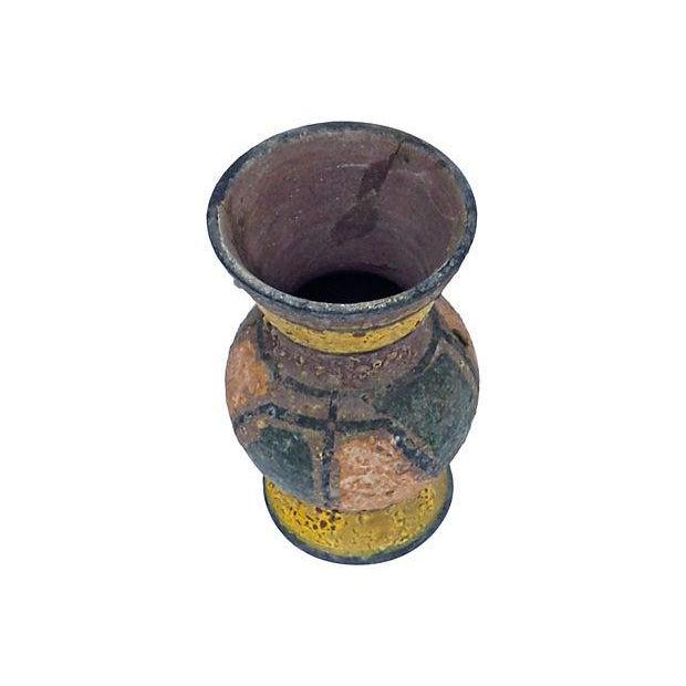 Vintage Mid-Century Italian Ceramic Vase - Image 2 of 2