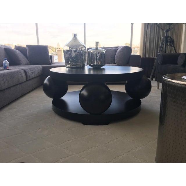 Image of Kugel Gunmetal Coffee Table