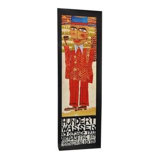 Friedensreich Hundertwasser Exhibition Poster Circa 1973