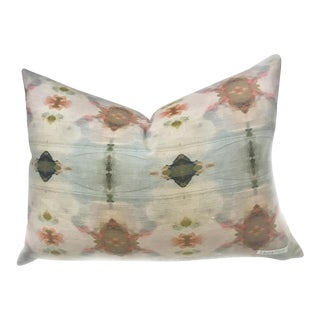 'Under the Sea' Abstract Linen Cotton Pillow