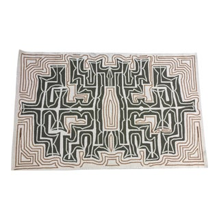 Tribal-Inspired Hook Area Rug - 5' x 8'