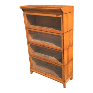 Oak Gunn Manufactoring Bookcase