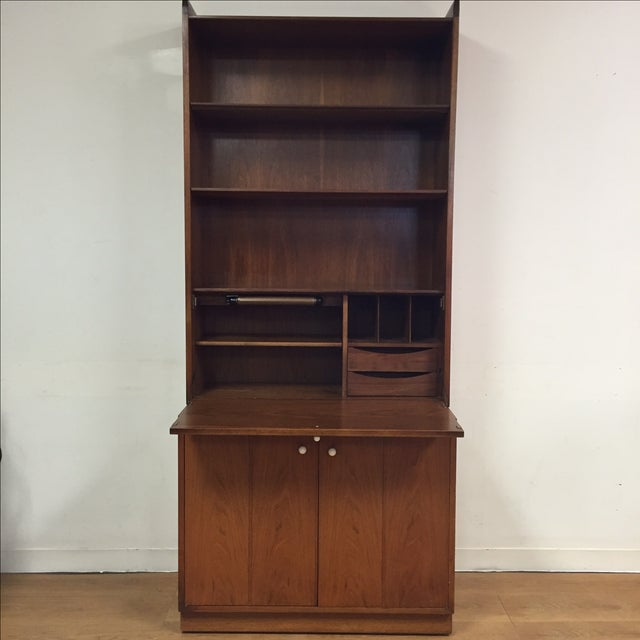 Drexel Kipp Stewart Bookcase Desk - Image 2 of 11