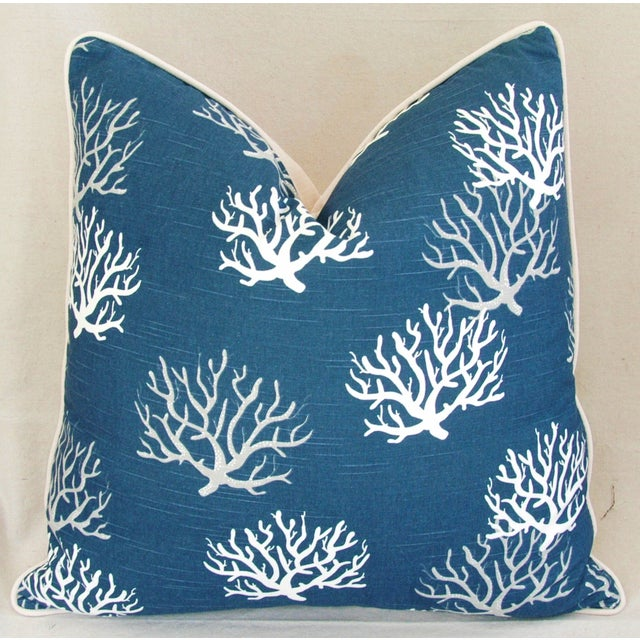 Custom Ocean & Beach Coral Branch Pillows - A Pair - Image 9 of 10