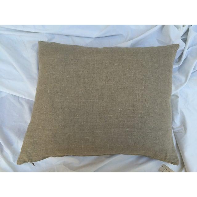 African Kuba Maze Pillow - Image 6 of 6