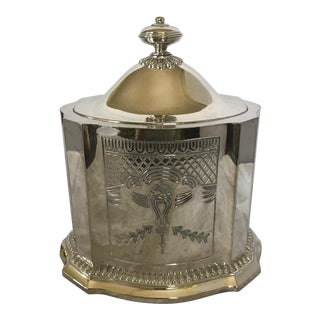 Regency Style Silver Plate Box