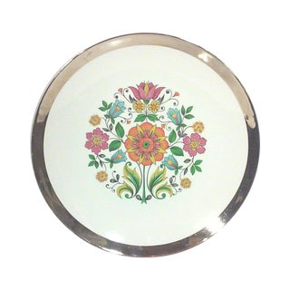 English Botanical Cabinet Plate