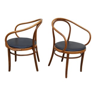 Thonet B9 Bentwood Chairs - A Pair