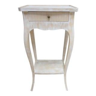 Regency Italian Lamp End Table