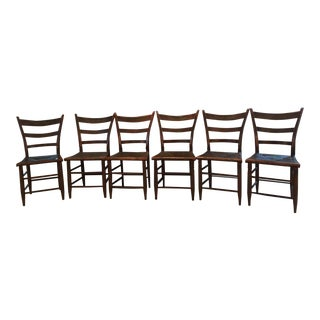 1820 Antique American Chairs - Set of 6