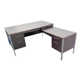 Steelcase Style Mid-Century Desk