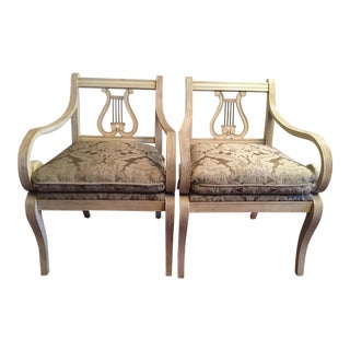 Thomasville Harp Chairs - A Pair