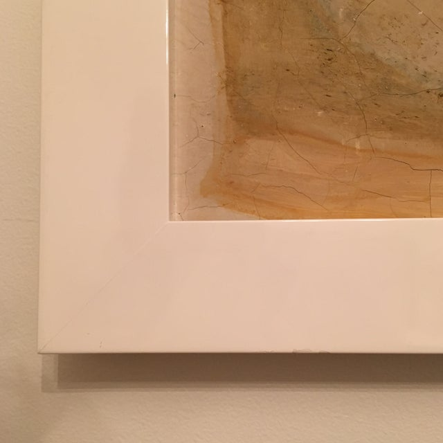 Abstract Framed Painting - Image 3 of 7