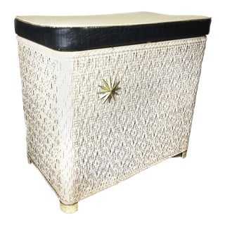 Vintage Harvey Mid-Century Clothes Hamper